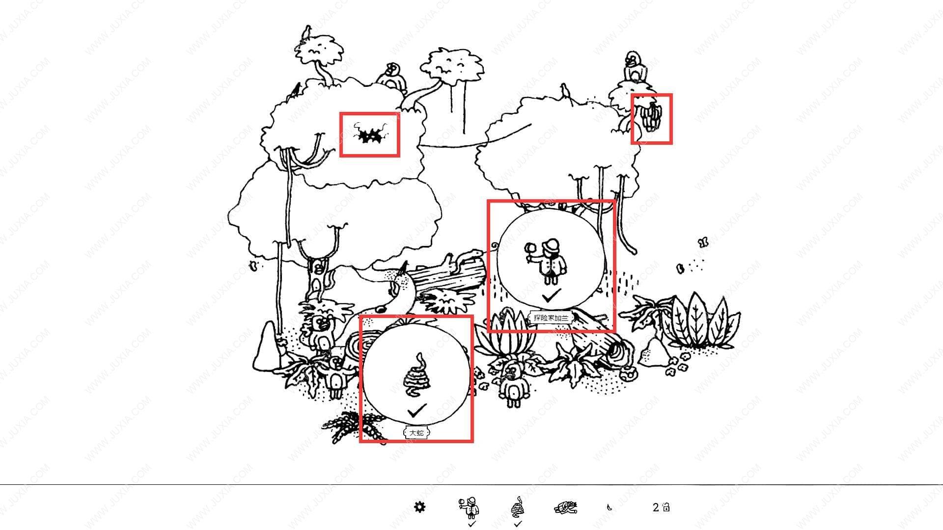 隐藏的家伙攻略图文森林第1关 HiddenFolks图文攻略森林第一关
