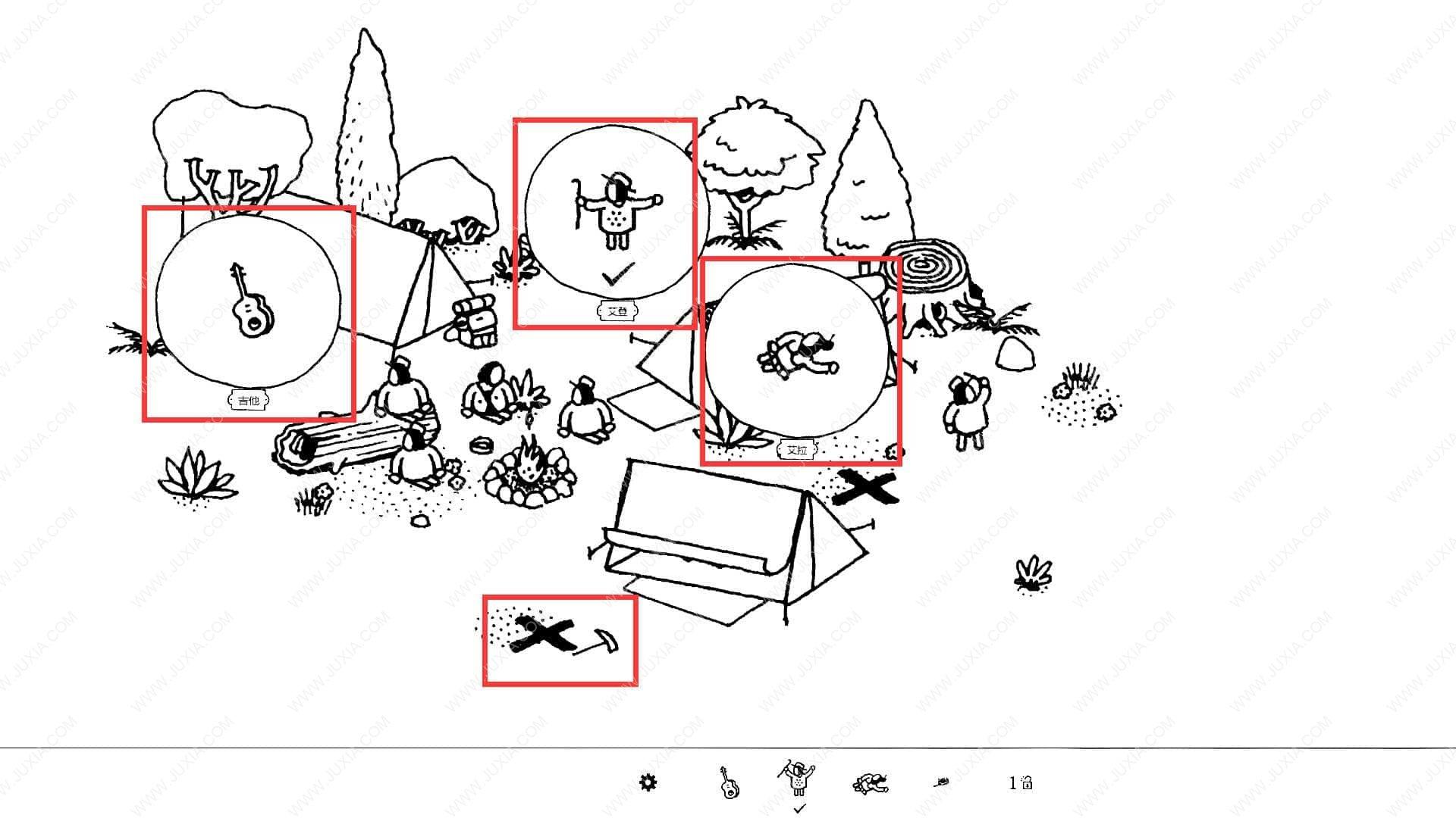 隐藏的家伙攻略图文森林第4关 HiddenFolks图文攻略森林第四关