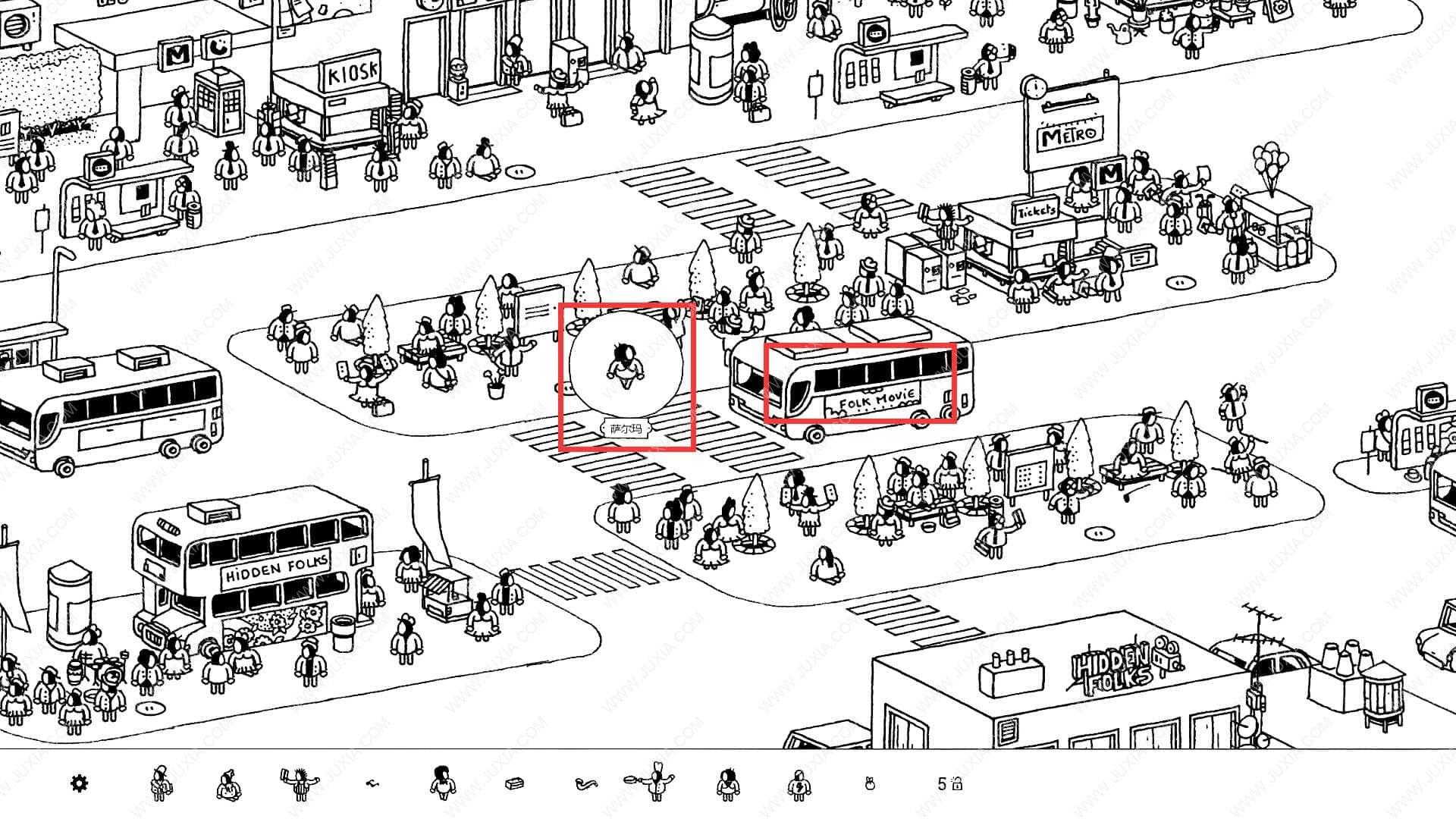 隐藏的家伙攻略图文城市第3关 HiddenFolks图文攻略城市第三关