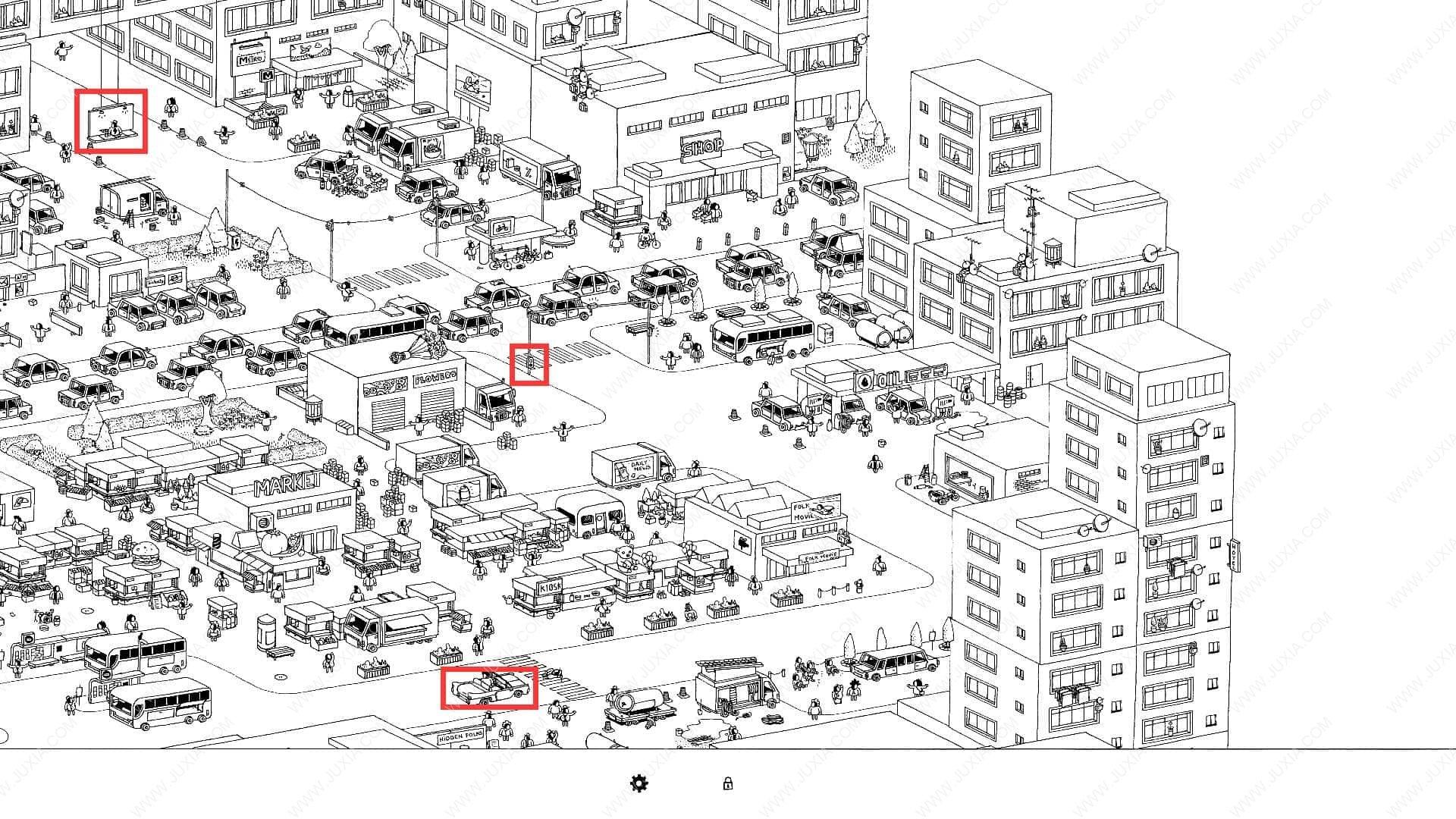 隐藏的家伙攻略图文城市第5关 HiddenFolks图文攻略城市第五关