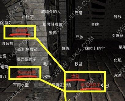 孙美琪疑案12郎冥其攻略四肢被吃怎么找 四肢被吃线索位置