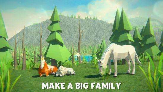 森林马模拟器截图