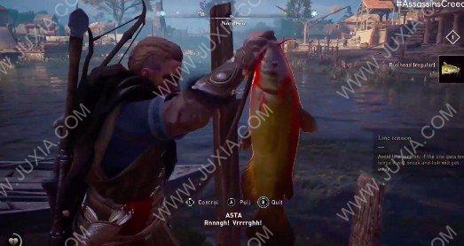 刺客信条英灵殿新玩法加入 钓鱼奏乐花样多