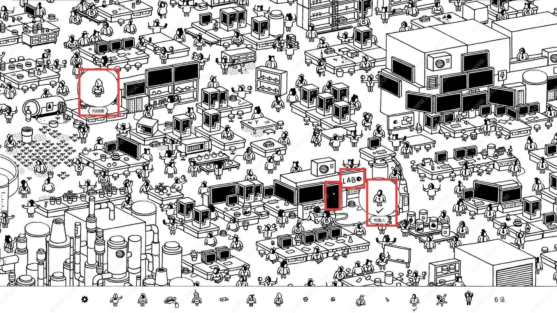 隐藏的家伙工厂2攻略 HiddenFolks图文攻略工厂第二关