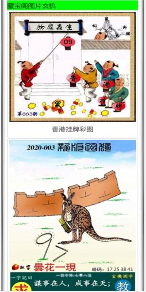 香港藏宝阁六开彩资料截图