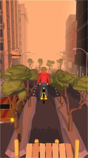 疯狂的自行车骑手截图