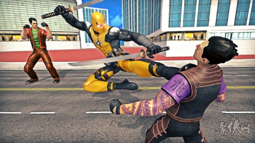 侠盗猎车手超级英雄游戏