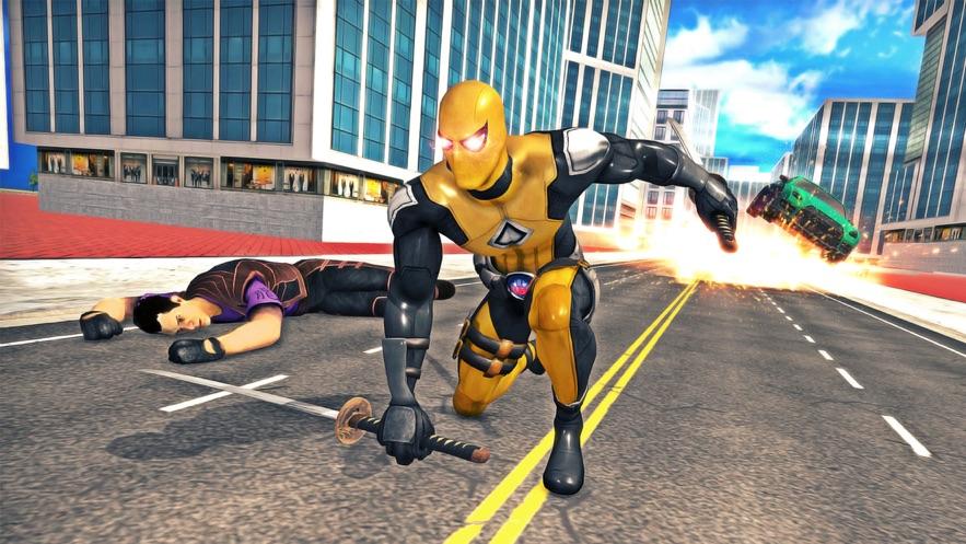 侠盗猎车手超级英雄游戏截图