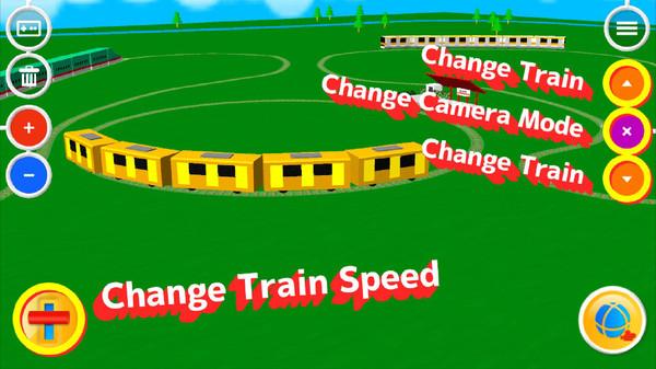 触摸火车3D截图