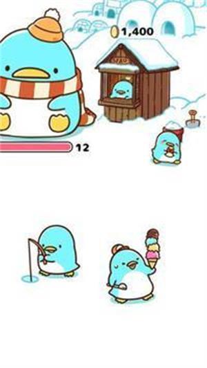 疯狂合企鹅截图