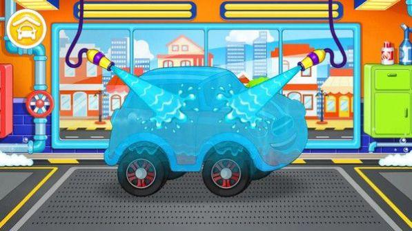 汽车清洗模拟截图
