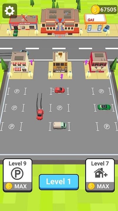 漂移泊车3D截图