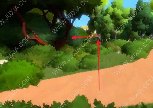 见证者攻略第二山路小路怎么过 TheWitness电板怎么解开