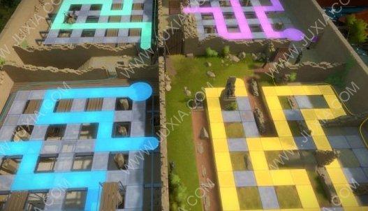 见证者攻略第八关后怎么过 TheWitness绿色迷宫怎么过