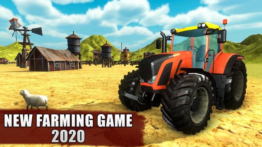 新农业拖拉机游戏2020截图