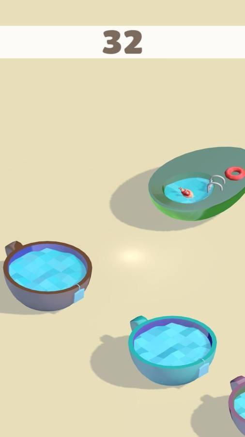 泳池跳跃截图