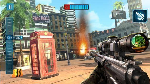 英雄狙击手FPS射击游戏截图