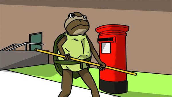 非常普通的沙雕青蛙