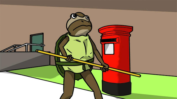 非常普通的沙雕青蛙截图