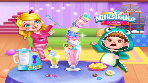 奶昔制作模拟