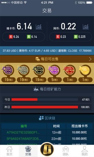 维卡币app截图