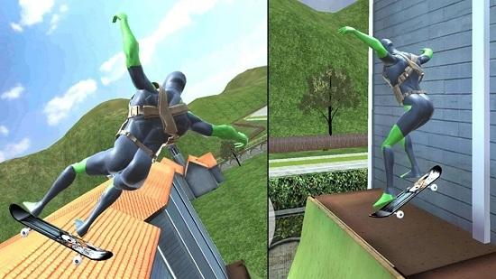 绳蛙忍者英雄维加斯截图