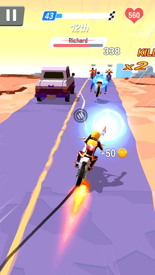 暴力飞车游戏单机版截图