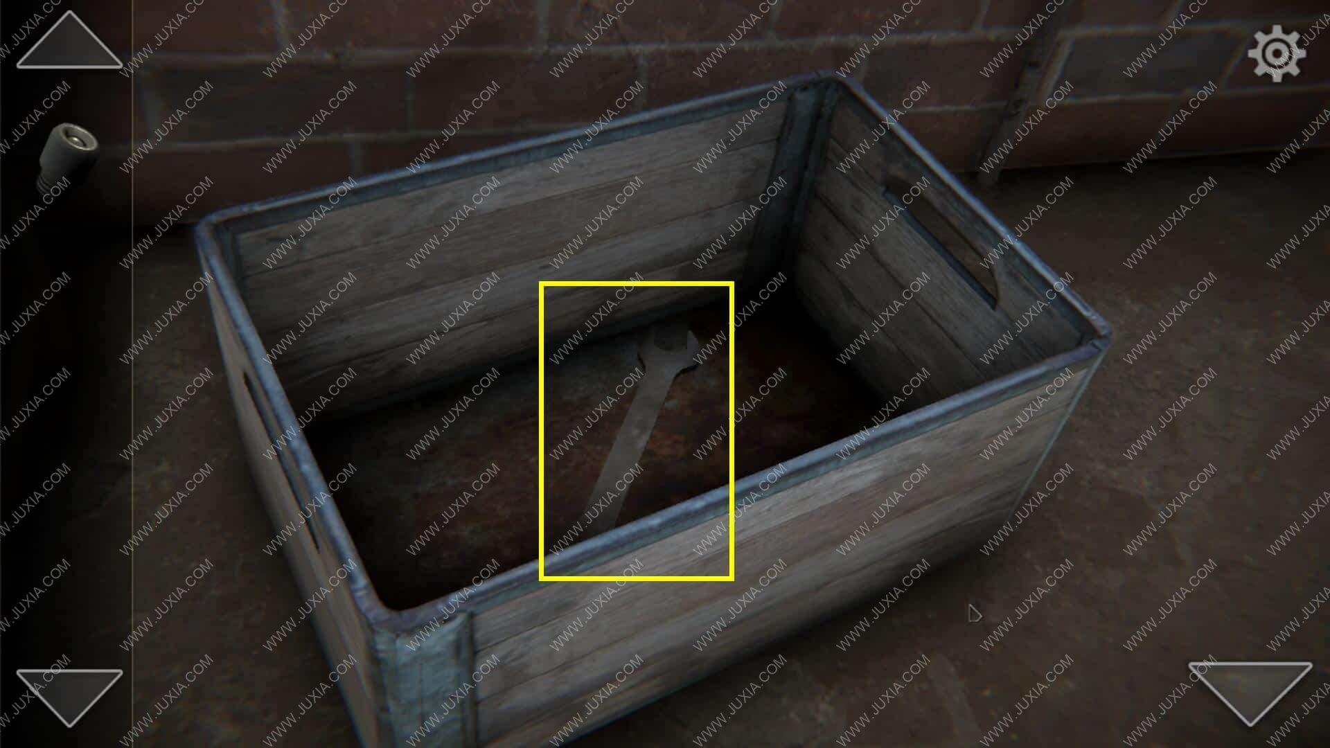 TheEscaper逃脱者攻略第二关 room2修理室铁箱怎么过