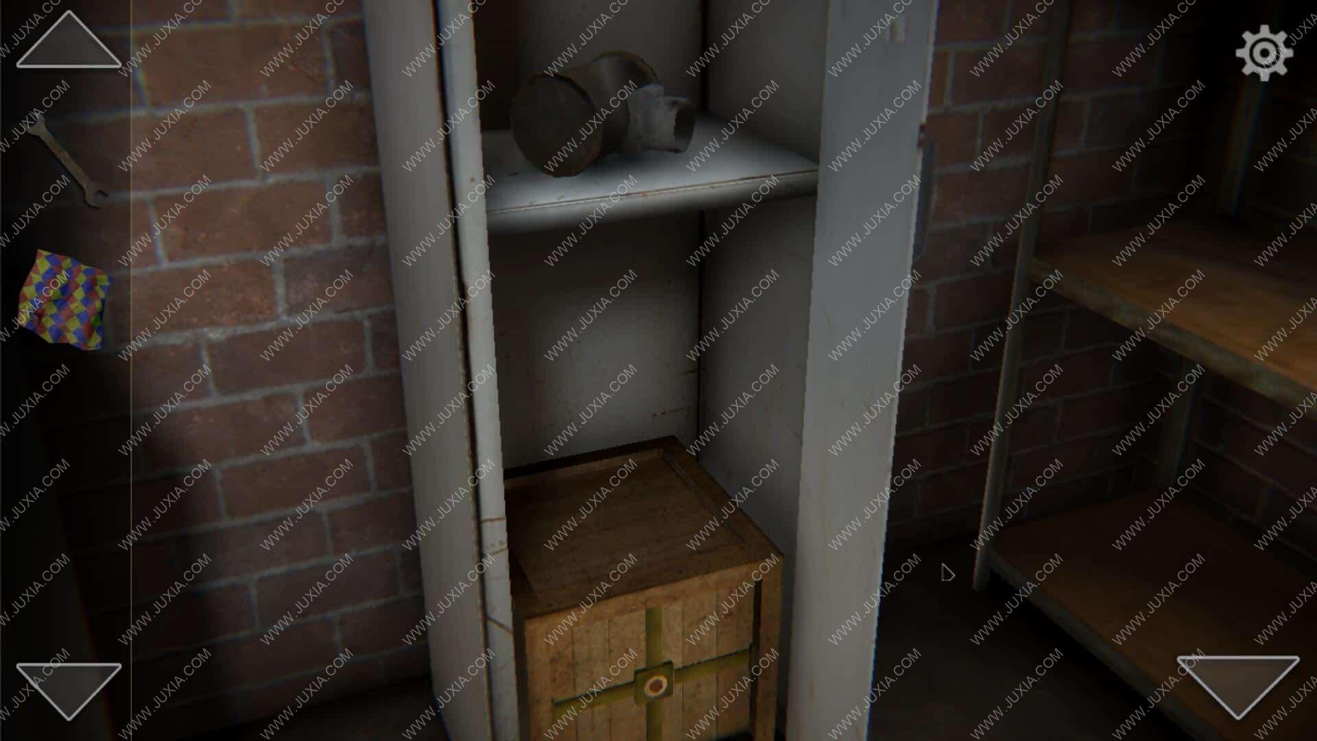 TheEscaper逃脱者攻略第二关下 room2修理室铁箱怎么过