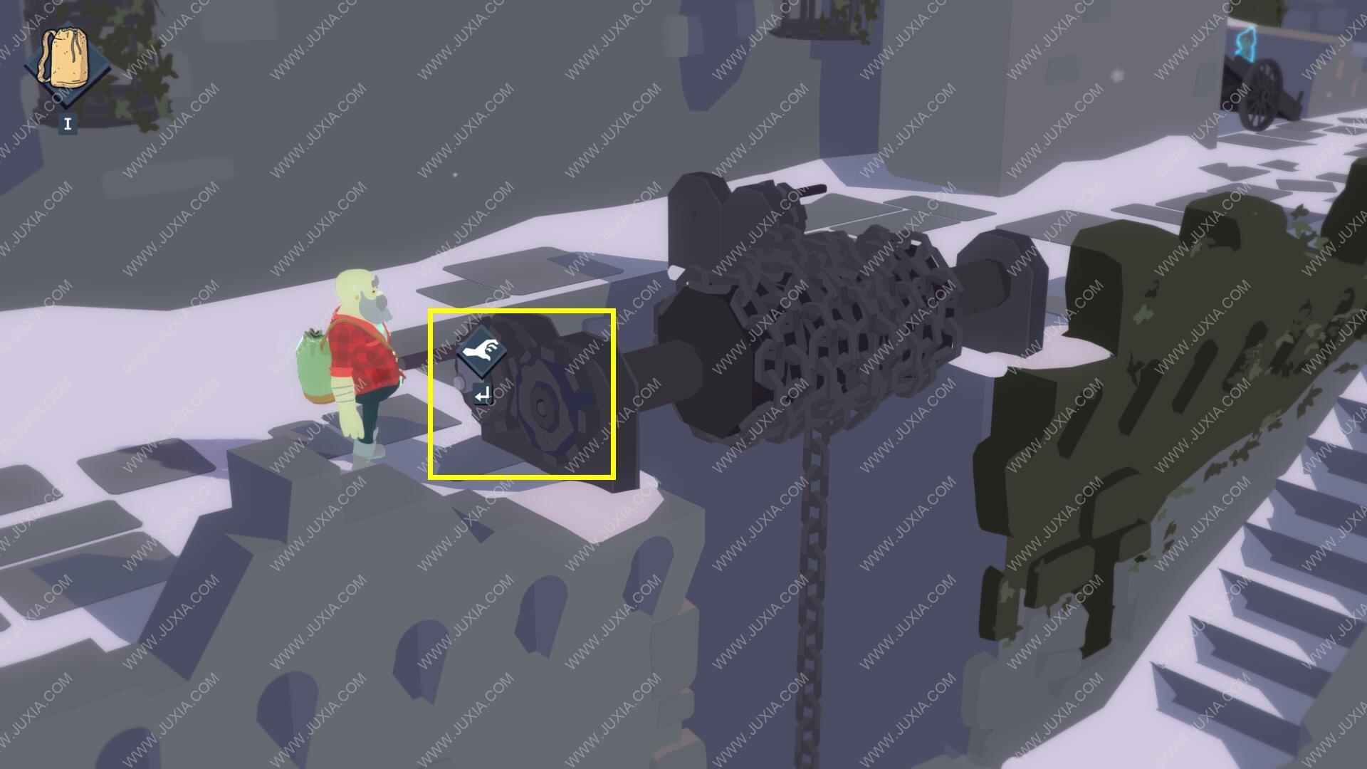 Röki完整攻略 第三章攻略中铁笼怎么调整