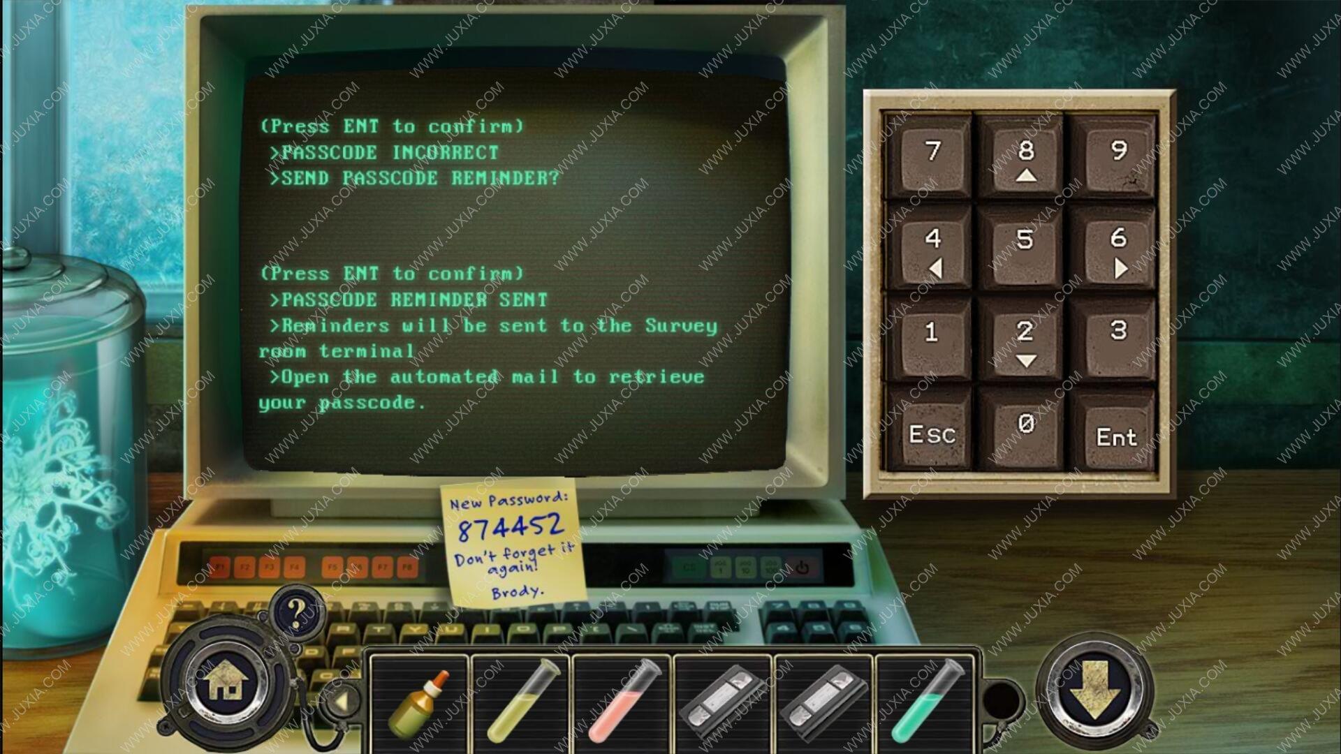 Facility47攻略第五关图文 47号房间攻略第5关电脑密码怎么获得