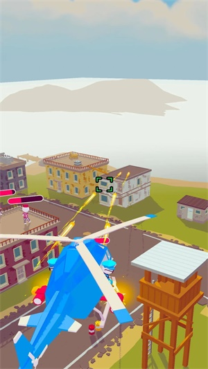 直升机射击截图