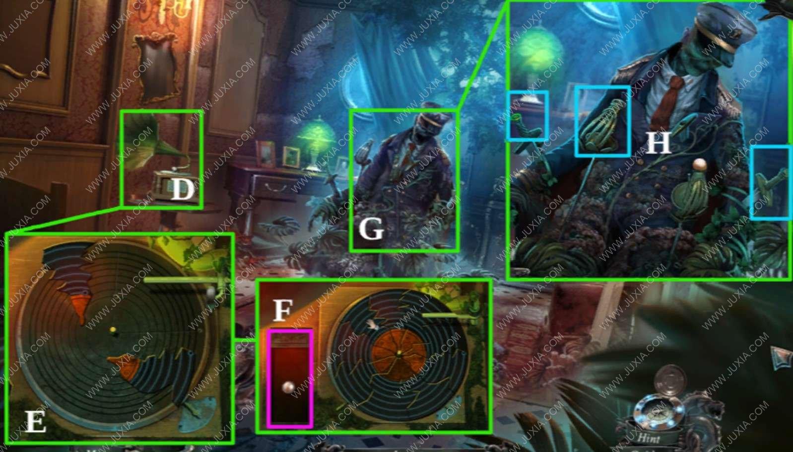 深海噩梦1被诅咒的心攻略奖励章节第二章下 nightmaresfromthedeep攻略地图拼图在哪