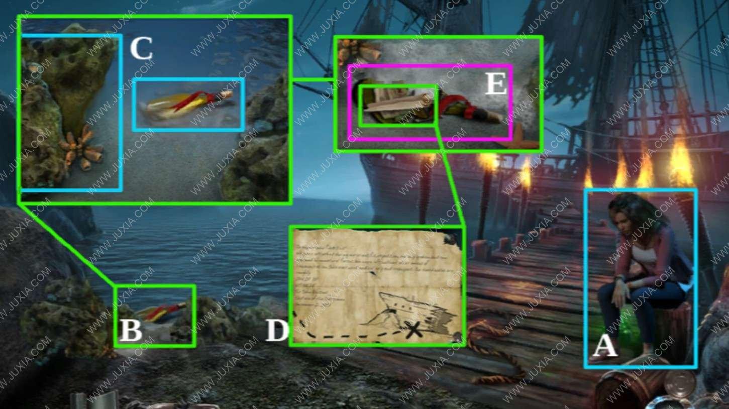 深海噩梦1被诅咒的心攻略奖励章节第一章 nightmaresfromthedeep攻略指南针在哪