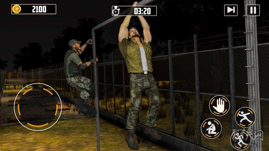 闲美国军队训练基地sim