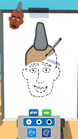 肖像画家截图