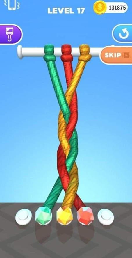 绳子交叉截图