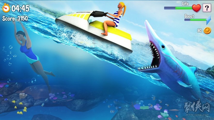 双头鲨鱼攻击世界