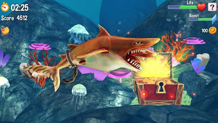 双头鲨鱼攻击世界截图