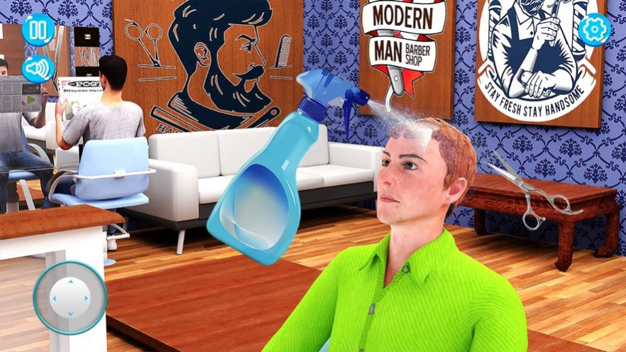 理发店3D剪发沙龙截图