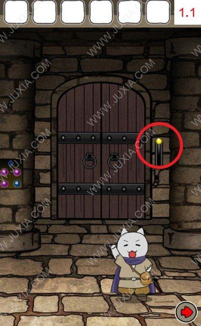 白猫与龙王城攻略第一关 第1关攻略图解上