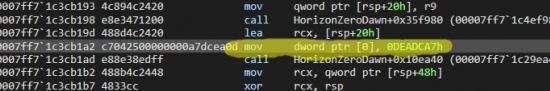 地平线零之曙光难道还只是一个调试版本 有大量错误代码