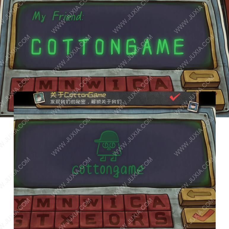 一路游戏图文攻略 成就关于cottongame怎么做