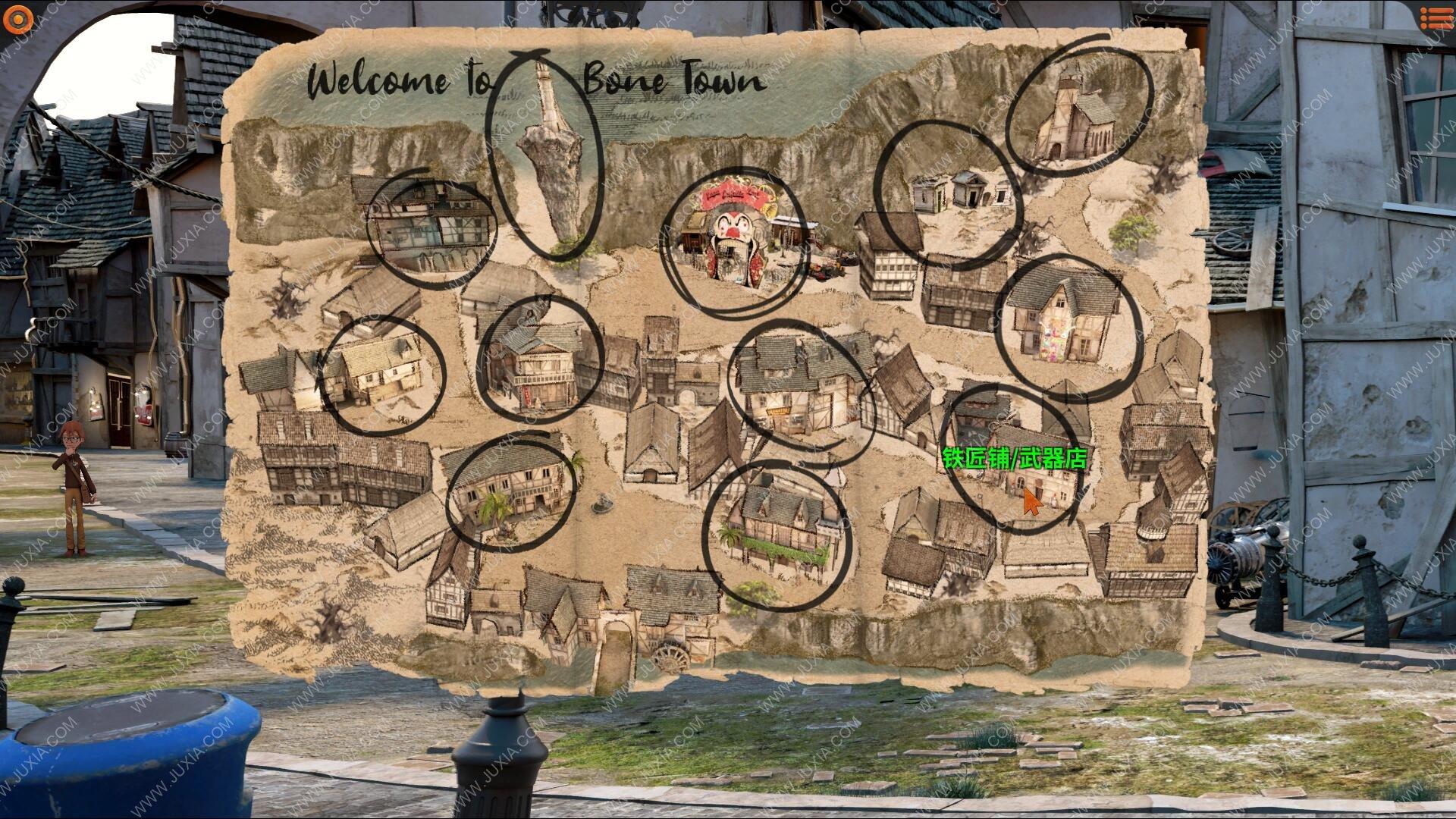 摩根奇遇记之诅咒小镇攻略 WillyMorgan攻略第三章