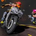 公路骑士摩托车