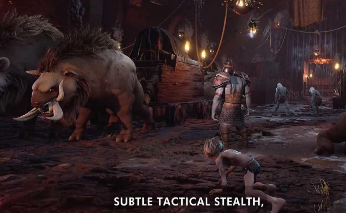 不必次世代指环王咕噜 将登陆PS4以及XboxOne