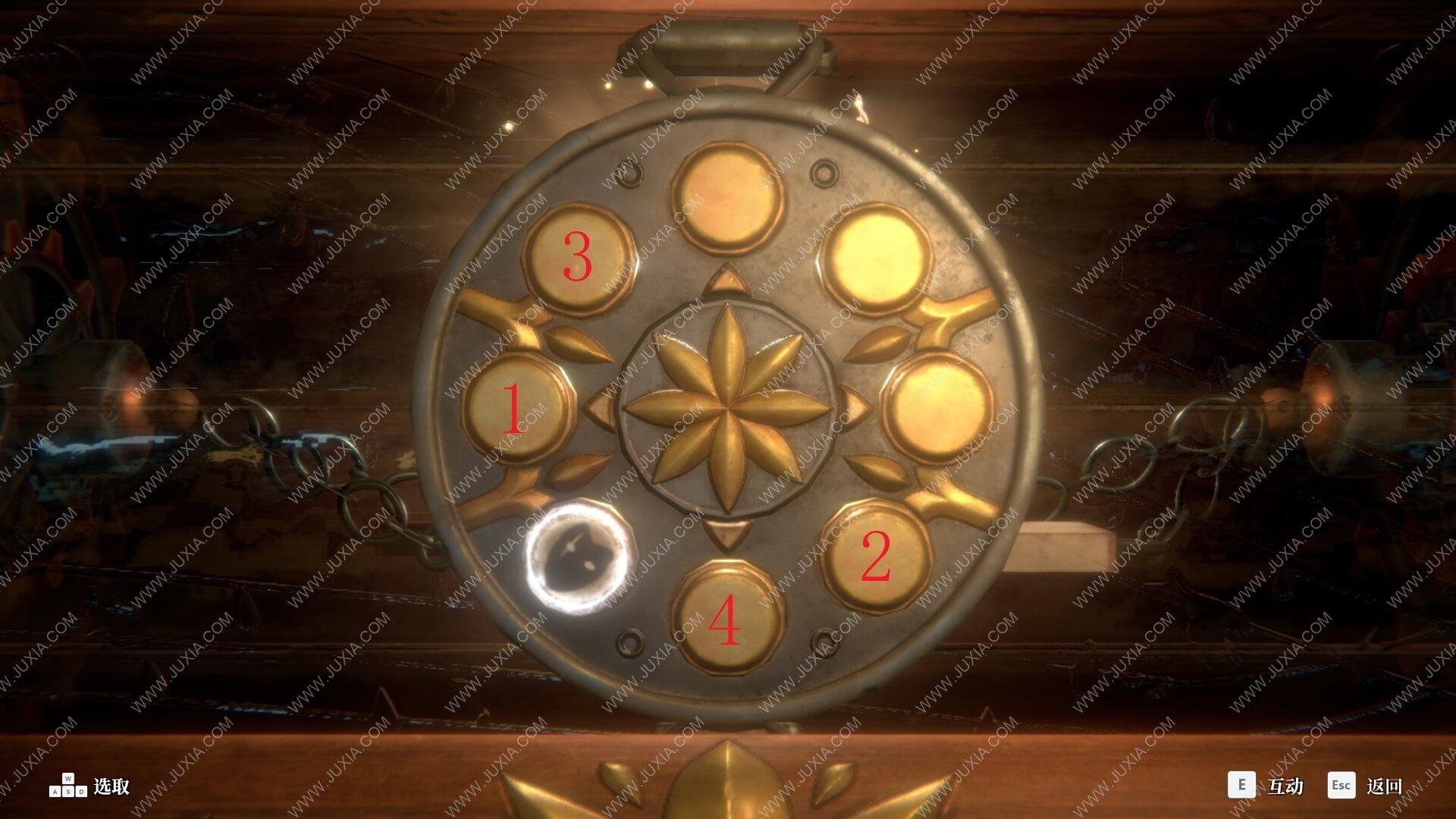 deemo黄金乐谱收集攻略 古树旋律阁楼圆盘按钮顺序