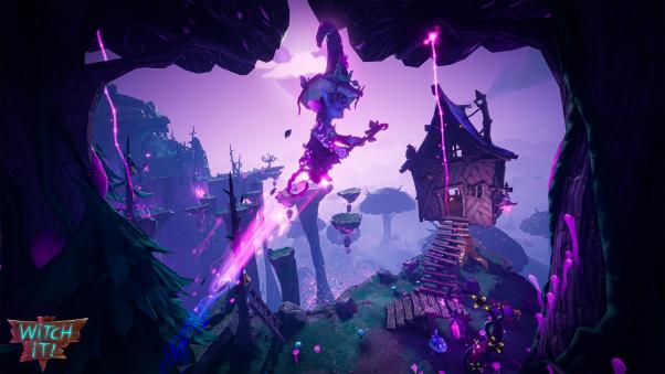 多人捉迷藏游戏《女巫来了(Witch It)》将于10月22日推出正式版