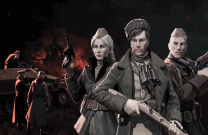 保卫东部前线,即时战略游戏《游击队1941》将于10月14日在PC上发布