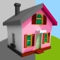 彩色房屋生活